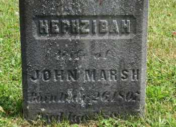 MARSH, HEPHZIBAH - Medina County, Ohio | HEPHZIBAH MARSH - Ohio Gravestone Photos
