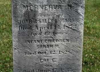 MARSH, SARAH M. - Medina County, Ohio | SARAH M. MARSH - Ohio Gravestone Photos