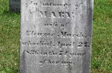 MARSH, MARY - Medina County, Ohio | MARY MARSH - Ohio Gravestone Photos