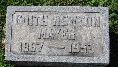 MAYER, EDITH - Medina County, Ohio | EDITH MAYER - Ohio Gravestone Photos