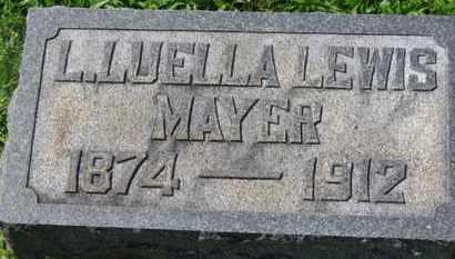 LEWIS MAYER, L. LUELLA - Medina County, Ohio | L. LUELLA LEWIS MAYER - Ohio Gravestone Photos