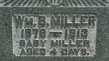 MILLER, WM. B. - Medina County, Ohio | WM. B. MILLER - Ohio Gravestone Photos