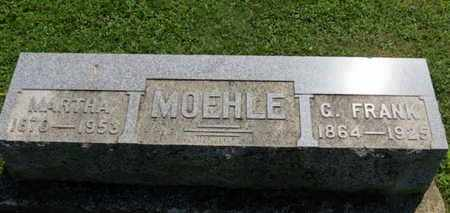 MOEHLE, MARTHA - Medina County, Ohio | MARTHA MOEHLE - Ohio Gravestone Photos