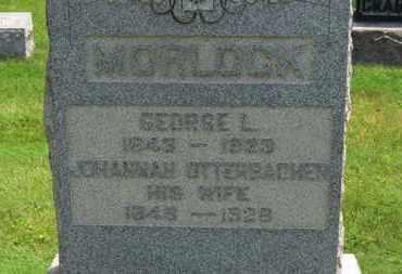 OTTERBACHER MORLOCK, JOHANNAH - Medina County, Ohio | JOHANNAH OTTERBACHER MORLOCK - Ohio Gravestone Photos