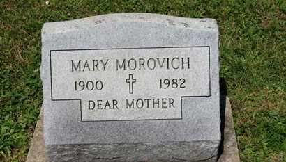 MOROVICH, MARY - Medina County, Ohio | MARY MOROVICH - Ohio Gravestone Photos