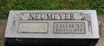 NEUMEYER, CLYDE I. - Medina County, Ohio | CLYDE I. NEUMEYER - Ohio Gravestone Photos