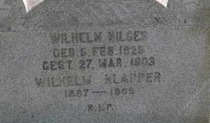 KLAPPER, WILHELM - Medina County, Ohio | WILHELM KLAPPER - Ohio Gravestone Photos