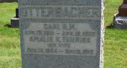 FAHRION OTTERBACHER, AMALIE K. - Medina County, Ohio   AMALIE K. FAHRION OTTERBACHER - Ohio Gravestone Photos
