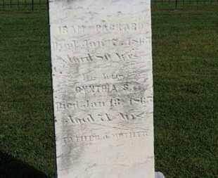 PACKARD, CYNTHIA - Medina County, Ohio | CYNTHIA PACKARD - Ohio Gravestone Photos