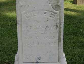 PACKARD, WILLIE G. - Medina County, Ohio | WILLIE G. PACKARD - Ohio Gravestone Photos