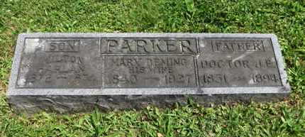 PARKER, MARY - Medina County, Ohio | MARY PARKER - Ohio Gravestone Photos