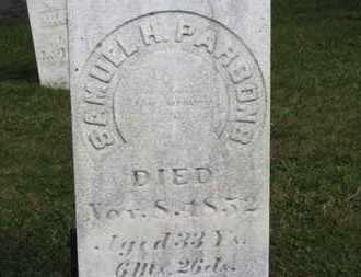 PARSONS, SAMUEL H. - Medina County, Ohio | SAMUEL H. PARSONS - Ohio Gravestone Photos