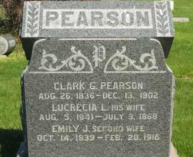 PEARSON, EMILY J. - Medina County, Ohio | EMILY J. PEARSON - Ohio Gravestone Photos