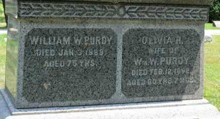 PURDY, OLIVIA H. - Medina County, Ohio | OLIVIA H. PURDY - Ohio Gravestone Photos