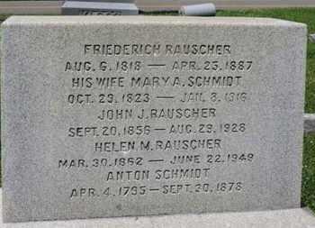 RAUSCHER, MARY A. - Medina County, Ohio   MARY A. RAUSCHER - Ohio Gravestone Photos
