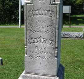 REUSCH, AUGUST F. - Medina County, Ohio   AUGUST F. REUSCH - Ohio Gravestone Photos