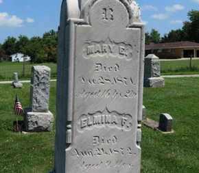 REUSCH, MARY E. - Medina County, Ohio | MARY E. REUSCH - Ohio Gravestone Photos