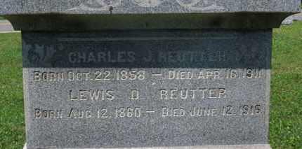 REUTTER, LEWIS D. - Medina County, Ohio | LEWIS D. REUTTER - Ohio Gravestone Photos