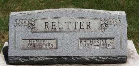 REUTTER, HENRY L. - Medina County, Ohio | HENRY L. REUTTER - Ohio Gravestone Photos