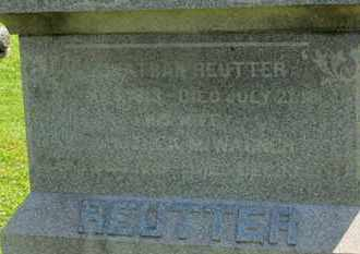 WAGNER REUTTER, DOROTHEA M. - Medina County, Ohio | DOROTHEA M. WAGNER REUTTER - Ohio Gravestone Photos