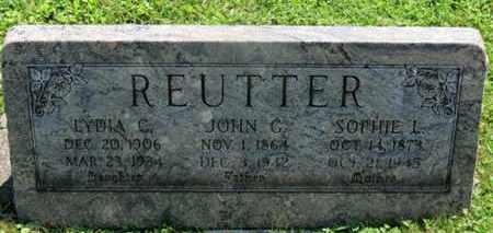 REUTTER, LYDIA C. - Medina County, Ohio | LYDIA C. REUTTER - Ohio Gravestone Photos