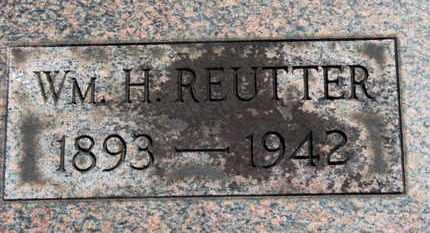 REUTTER, WM. H. - Medina County, Ohio | WM. H. REUTTER - Ohio Gravestone Photos