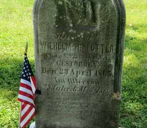 REUTTER, WILHELM - Medina County, Ohio | WILHELM REUTTER - Ohio Gravestone Photos