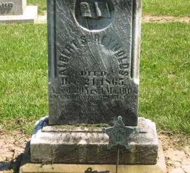 REYNOLDS, ALBERT S. - Medina County, Ohio | ALBERT S. REYNOLDS - Ohio Gravestone Photos