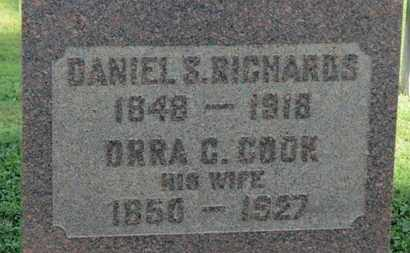 COOK RICHARDS, ORRA C. - Medina County, Ohio | ORRA C. COOK RICHARDS - Ohio Gravestone Photos