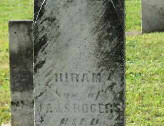 ROGERS, HIRAM - Medina County, Ohio   HIRAM ROGERS - Ohio Gravestone Photos