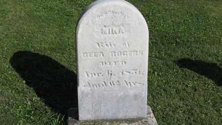 ROGERS, MINA - Medina County, Ohio | MINA ROGERS - Ohio Gravestone Photos