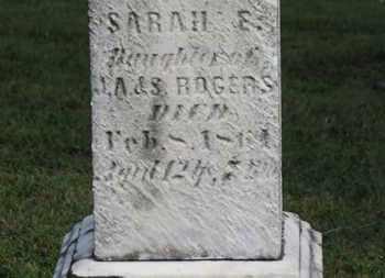 ROGERS, J.A. - Medina County, Ohio | J.A. ROGERS - Ohio Gravestone Photos