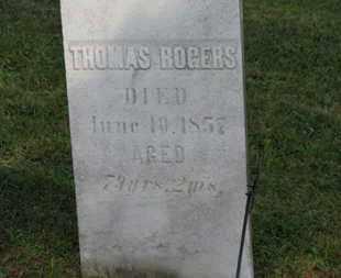 ROGERS, THOMAS - Medina County, Ohio | THOMAS ROGERS - Ohio Gravestone Photos