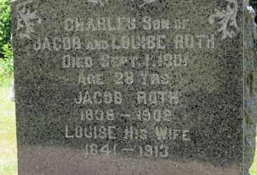 ROTH, JACOB - Medina County, Ohio   JACOB ROTH - Ohio Gravestone Photos