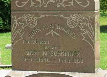SCHNEIDER, JOHN - Medina County, Ohio | JOHN SCHNEIDER - Ohio Gravestone Photos