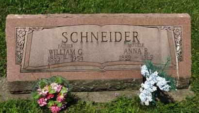 SCHNEIDER, WILLIAM G. - Medina County, Ohio | WILLIAM G. SCHNEIDER - Ohio Gravestone Photos