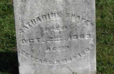 SHAFER, CATHARINE - Medina County, Ohio | CATHARINE SHAFER - Ohio Gravestone Photos