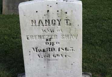 SHAW, NANCY T. - Medina County, Ohio | NANCY T. SHAW - Ohio Gravestone Photos