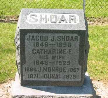 SHOAR, JACOB J. - Medina County, Ohio | JACOB J. SHOAR - Ohio Gravestone Photos