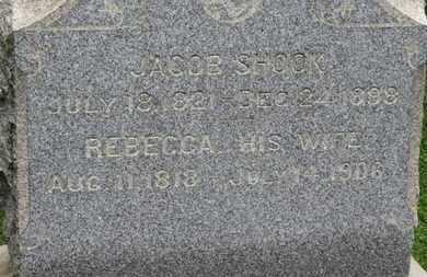 SHOOK, REBECCA - Medina County, Ohio | REBECCA SHOOK - Ohio Gravestone Photos