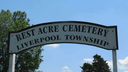 SIGN, CEMETERY - Medina County, Ohio | CEMETERY SIGN - Ohio Gravestone Photos