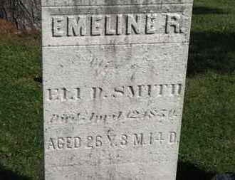 SMITH, EMELINE R. - Medina County, Ohio | EMELINE R. SMITH - Ohio Gravestone Photos