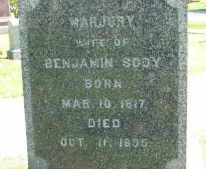 SOOY, MARJURY - Medina County, Ohio | MARJURY SOOY - Ohio Gravestone Photos