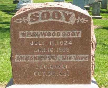 SOOY, WM ELWOOD - Medina County, Ohio | WM ELWOOD SOOY - Ohio Gravestone Photos