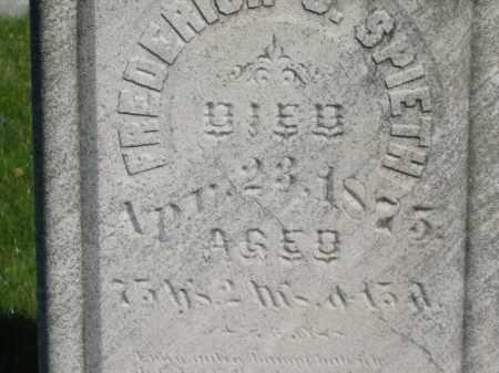 SPIETH, FREDERICK - Medina County, Ohio | FREDERICK SPIETH - Ohio Gravestone Photos