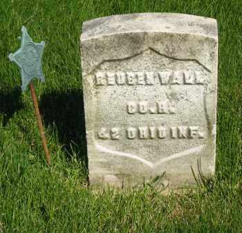WALL, REUBEN - Medina County, Ohio | REUBEN WALL - Ohio Gravestone Photos
