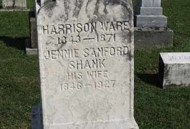 WARE, HARRISON - Medina County, Ohio | HARRISON WARE - Ohio Gravestone Photos