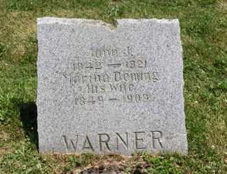 DEMING WARNER, MARTHA - Medina County, Ohio | MARTHA DEMING WARNER - Ohio Gravestone Photos