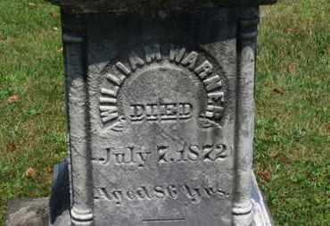 WARNER, WILLIAM - Medina County, Ohio   WILLIAM WARNER - Ohio Gravestone Photos