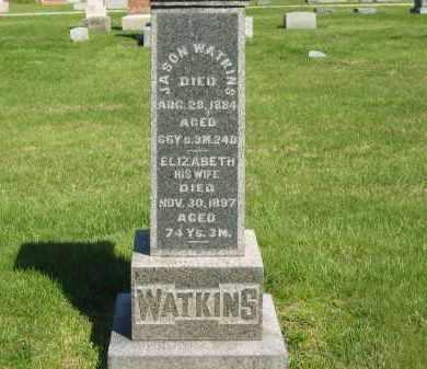 WATKINS, ELIZABETH - Medina County, Ohio | ELIZABETH WATKINS - Ohio Gravestone Photos